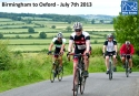 Birmingham to Oxford ride for the Jennifer Trust