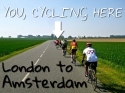 London to Amsterdam Cycle with More Adventure