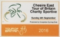 Cheshire East Tour of Britain Charity Sportive