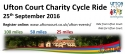 Ufton Court Charity Cycle Ride