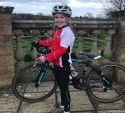 Eight Year Old Pocket Rocket Ruby Rides In Aid of Local Charity NorPIP