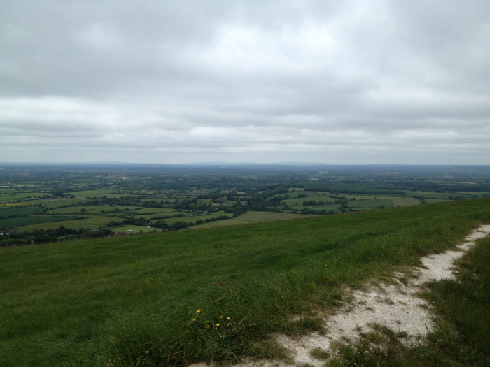 sussex from the devils dyke