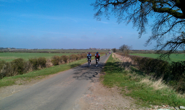 Glorious cycling weather