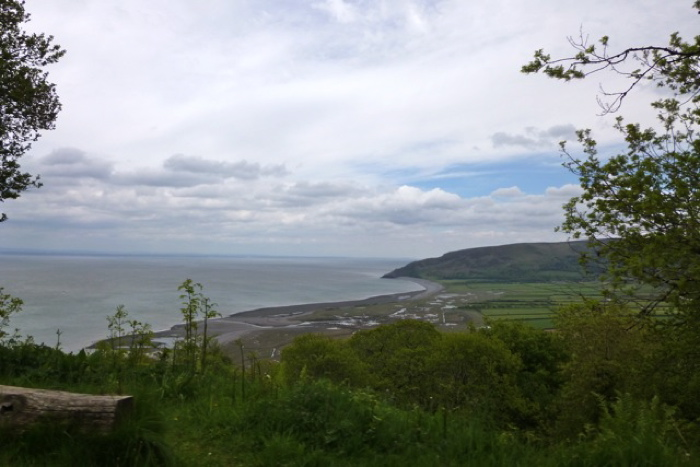 sea views from porlock hill road