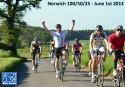 Norwich 50/100 ride for the BHF